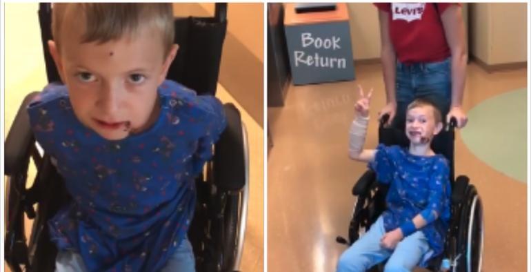 """Cody Langford el """"niño milagro"""" ¡vuelve a caminar!"""
