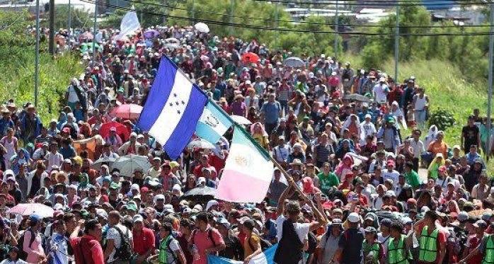 Preparan hondureños mega caravana migrante