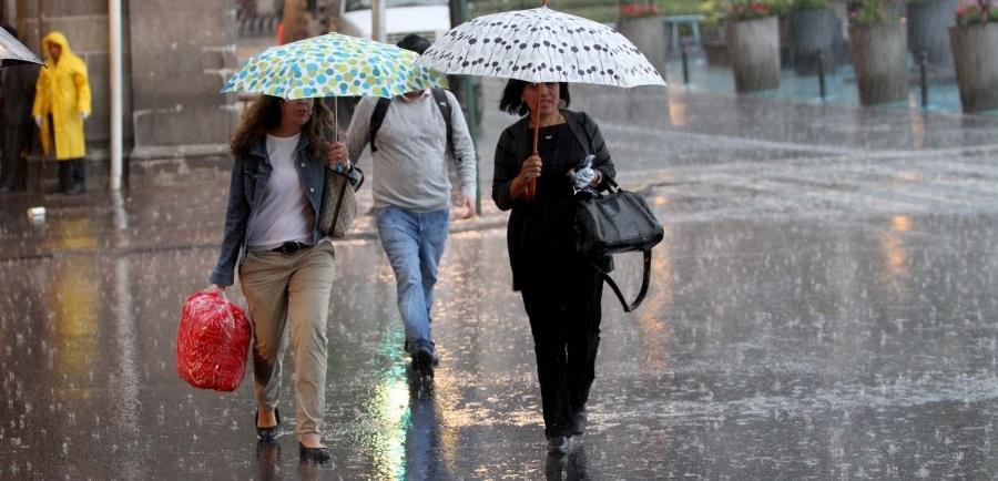 Prevén lluvias fuertes y frío en todo el país