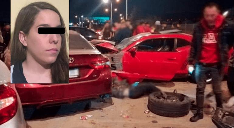 Dan prisión preventiva a #LadyCamaro; atropelló a siete
