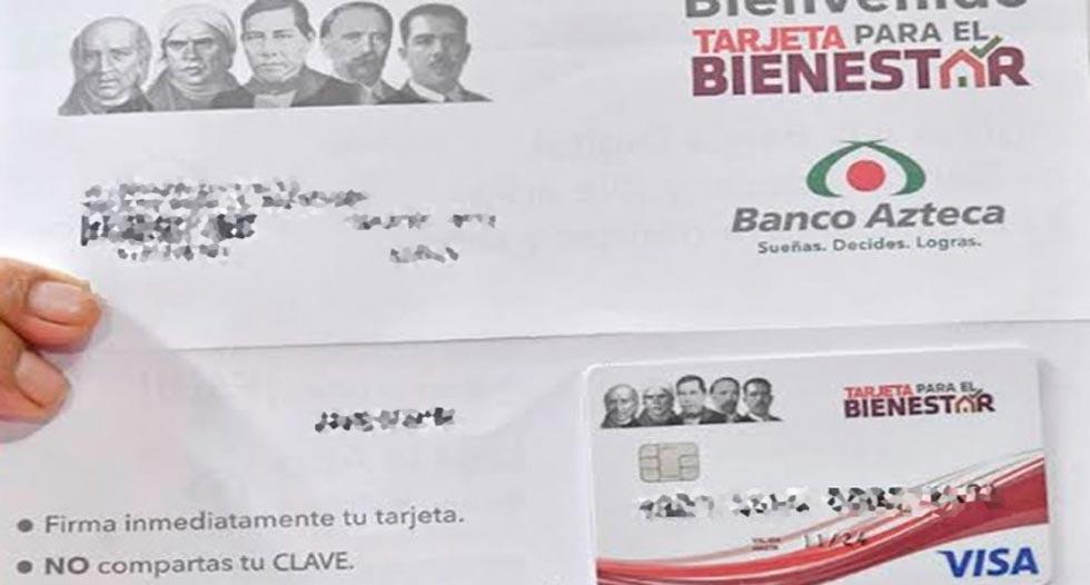Alertan por falso anuncio para tramitar 'Tarjeta para el Bienestar'