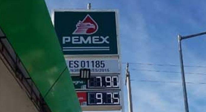 Se vende ¡hasta en $7.90 pesos! el litro de gasolina en Juárez