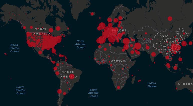 Coronavirus: Balance mundial (6 abril); Un millón 300 mil casos