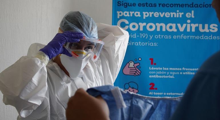 México, quinto país con más muertes por coronavirus el último día