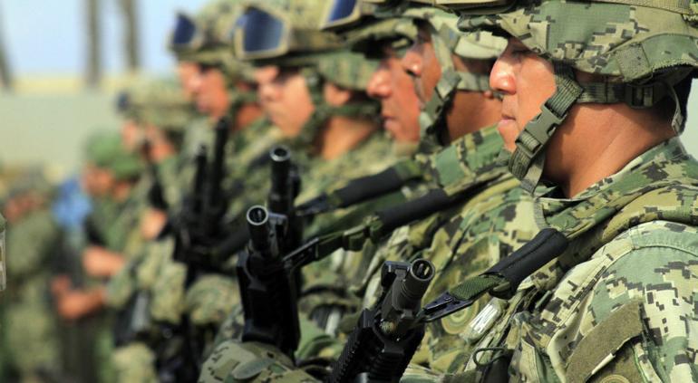 """Ejército en las calles """"será primer respondiente"""": Alfonso Durazo"""