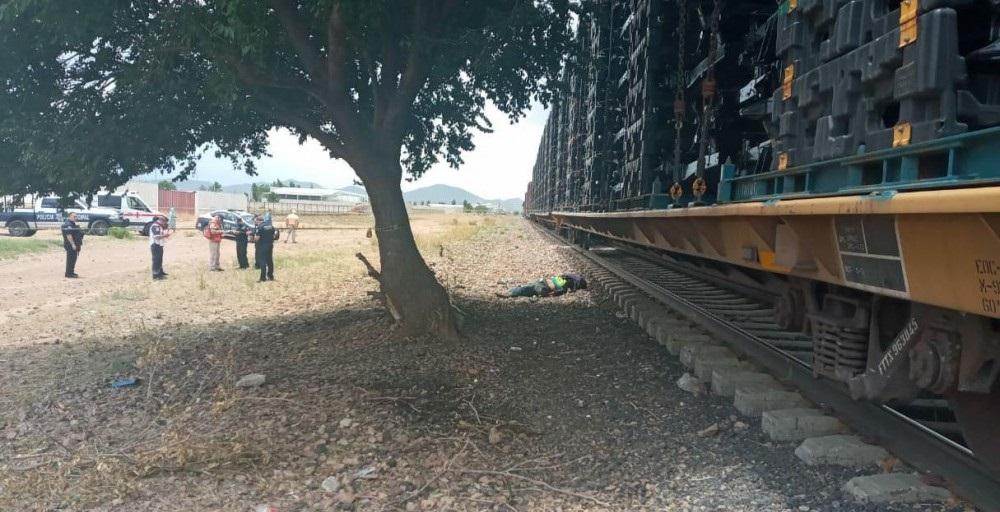 Muere tras ser atropellado por el tren en Cuauhtémoc