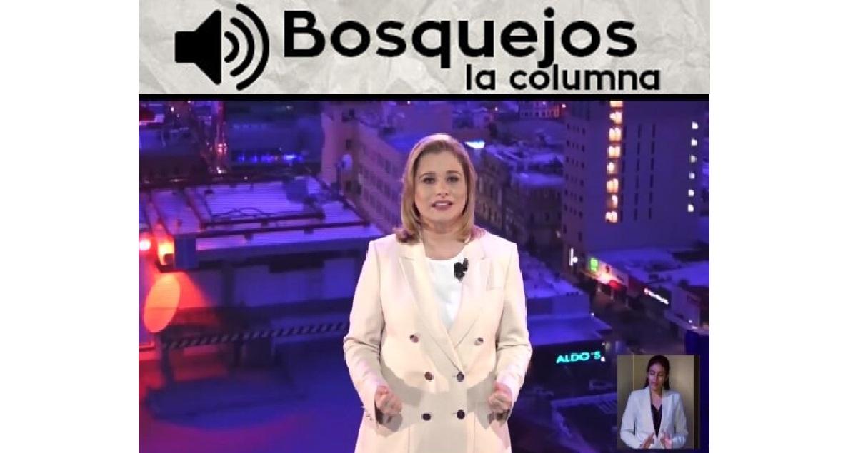 BOSQUEJOS LA COLUMNA – Maru Campos: me opuse a excesos de Duarte -Ahora Loera enfoca sus ataques contra Espino