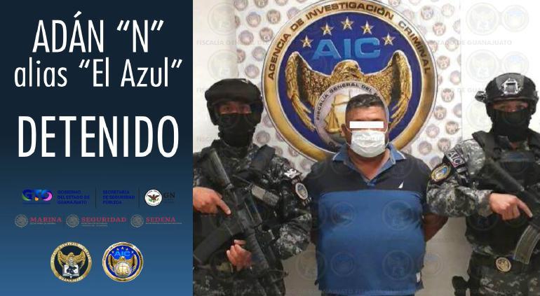 """Vincularon a proceso a """"El Azul""""; irá al penal del Altiplano"""