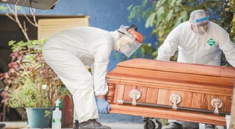 Incrementaron a 91, 289 las muertes de covid-19 en México