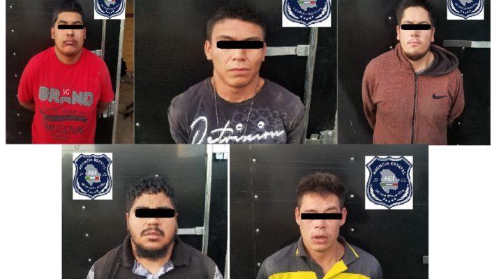 Rescatan a 7 personas secuestradas y detienen a 5 captores, en Valle de Juárez