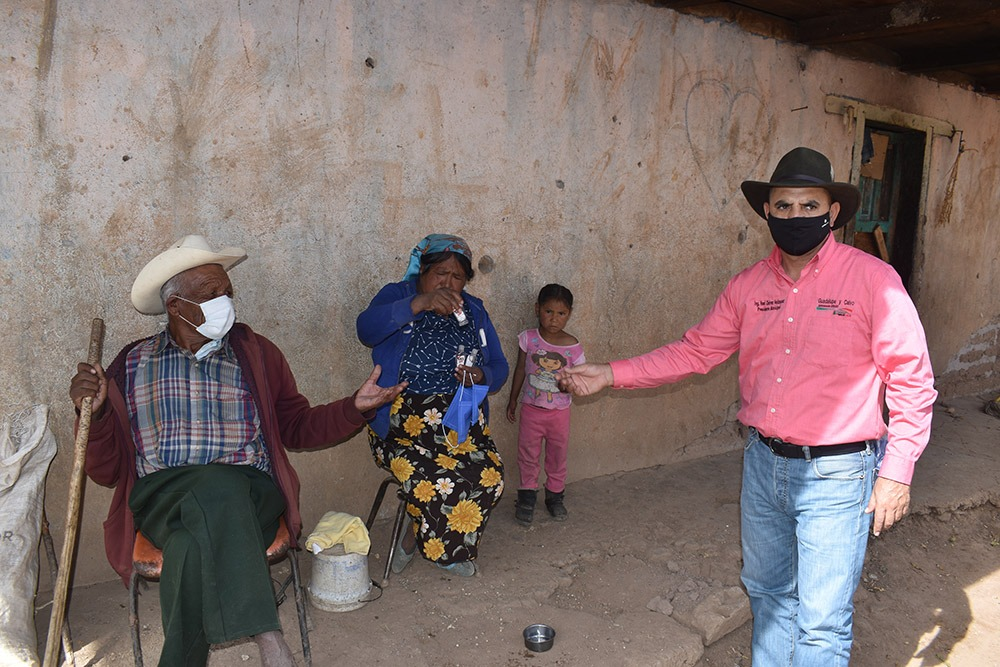 Inicia Noel Chávez programa Unidos por el Agua en Guadalupe y Calvo