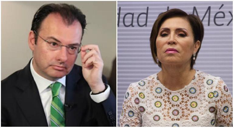 Dispuesto a declarar; niega Videgaray acusaciones de Rosario Robles
