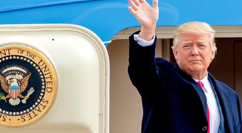 Afirma Trump que dejará Casa Blanca si Colegio Electoral elige a Biden