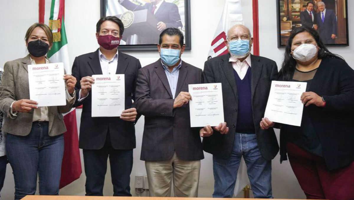 """Morena y """"Unidos por un mejor país"""" firman convenio para elecciones de 2021"""