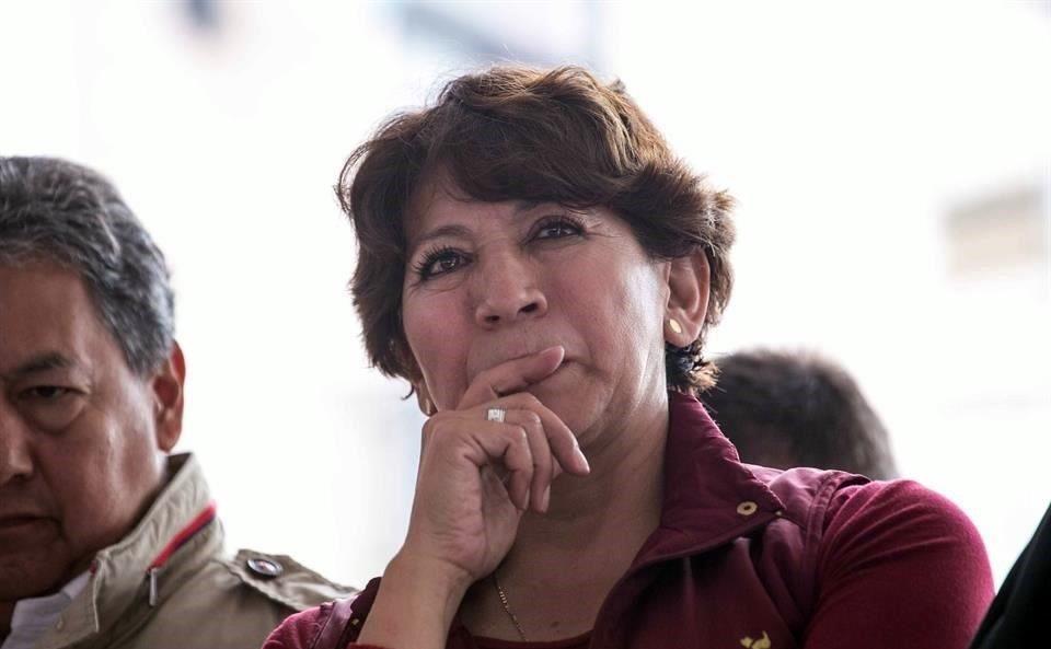Cuestionan nombramiento de Delfina Gómez