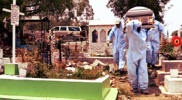 Sobrepasó México los 1.2 millones de casos de Covid y 111 mil muertes
