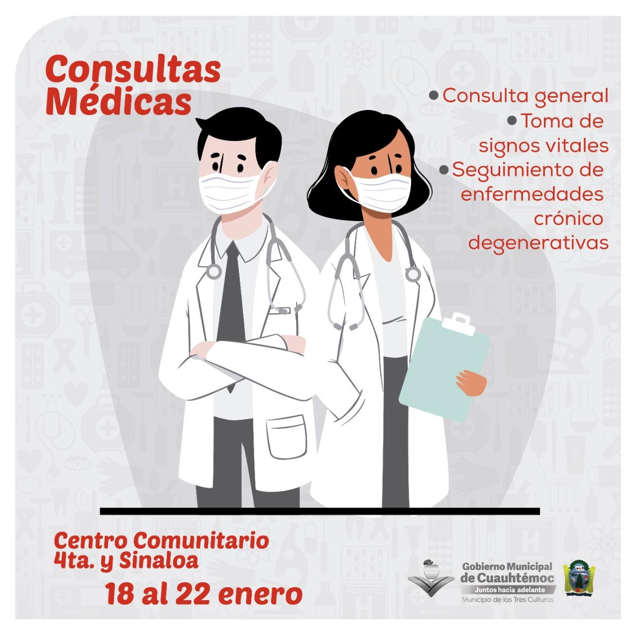 Cuauhtémoc > Reactivan atención médica en centros comunitarios