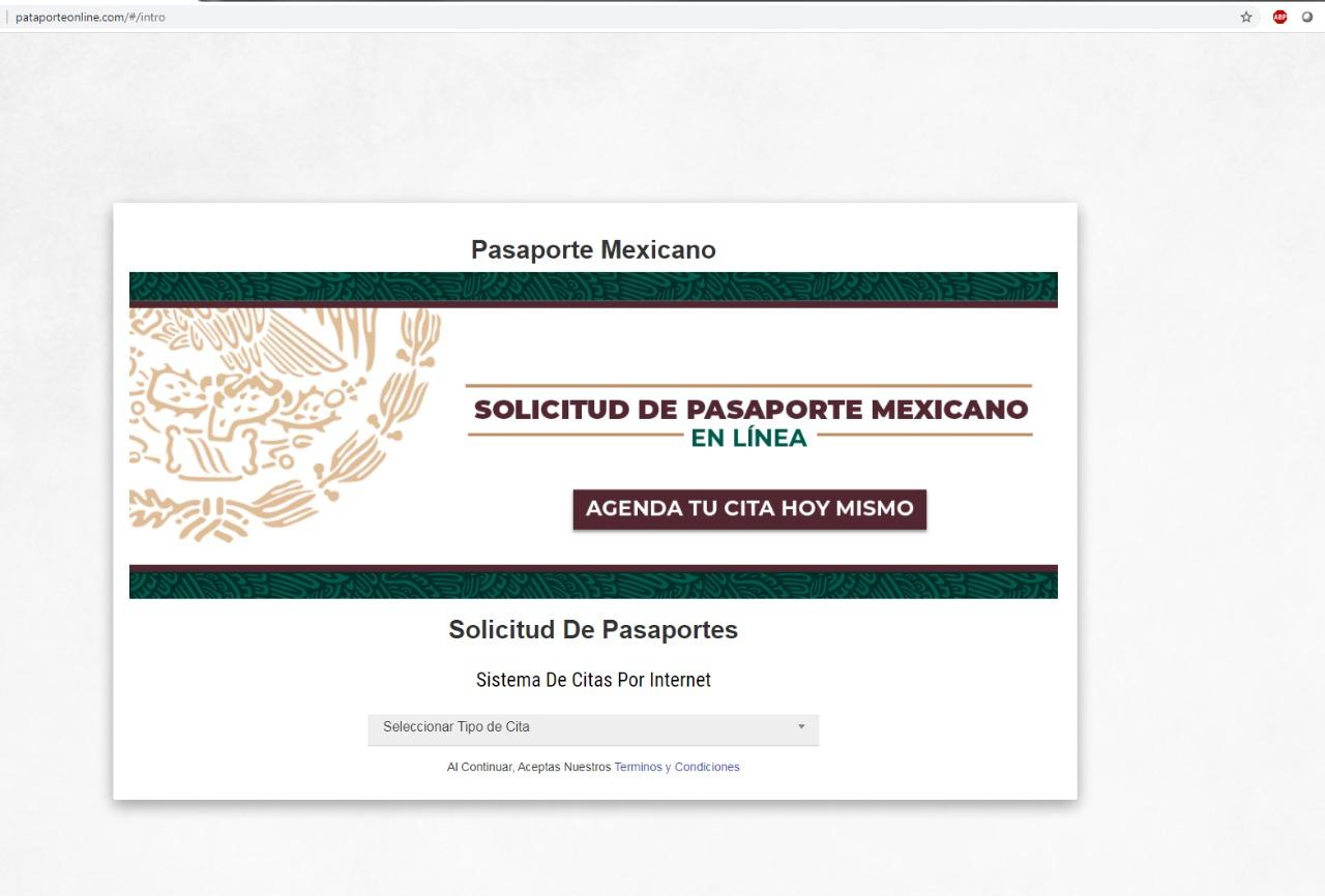 Advierte FGE por sitio falso que ofrece pasaportes