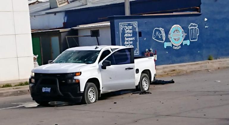Masacran a tres policías y a mujer en Nuevo Casas Grandes