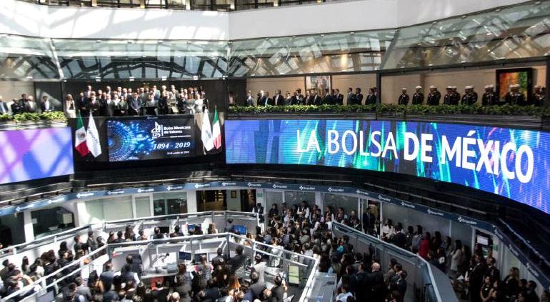Cae Bolsa Mexicana 0.81% por pérdidas del consumo básico