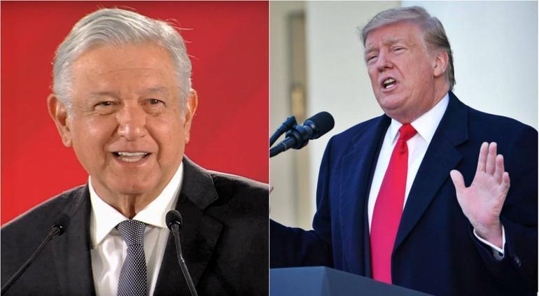 """Agradece Trump amistad de AMLO; """"es gran caballero"""""""