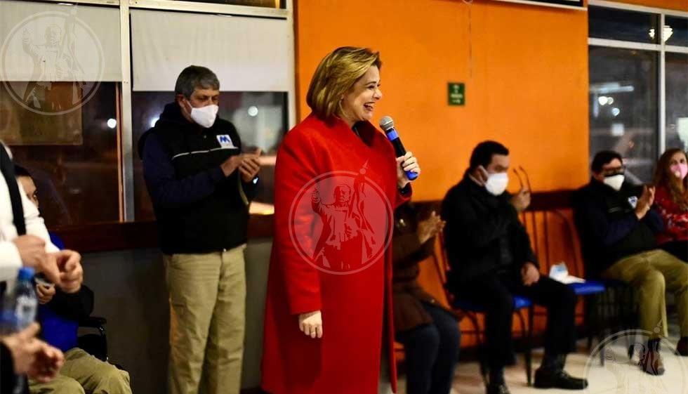 Llega Maru Campos a cerrar filas en Juárez
