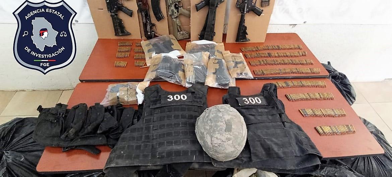 Aseguran marihuana, armas y equipo táctico en Coronado