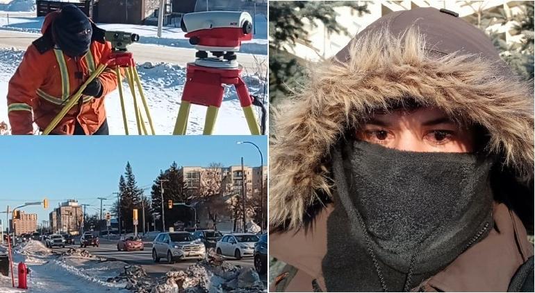 """""""Lo más frío de mi vida"""": trabaja chihuahuense en Canadá ¡a -34!"""