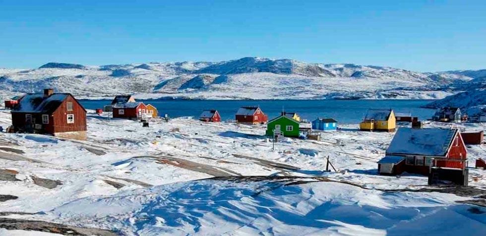 Hallan fósiles de plantas a mil 500 metros bajo hielo de Groenlandia