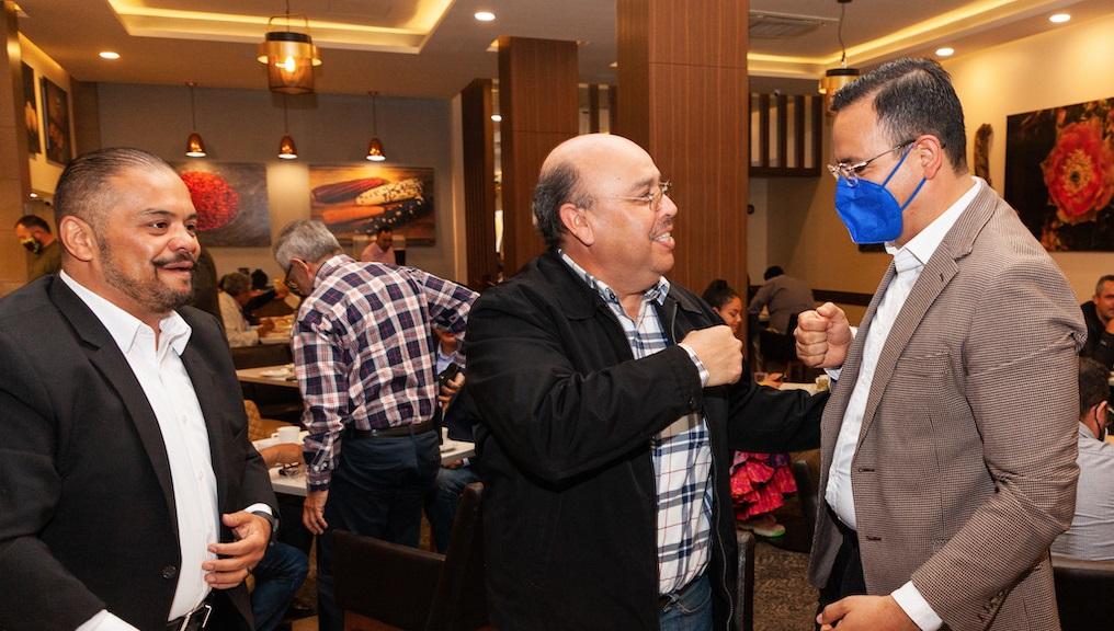 Se reúne Marco Bonilla con Eloy García Tarín