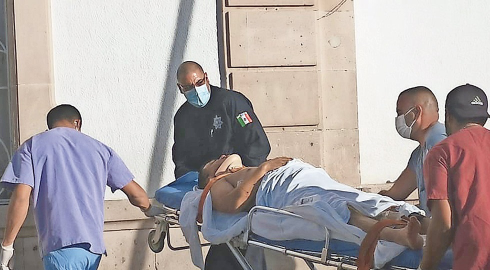 Suman 12 los estatales heridos