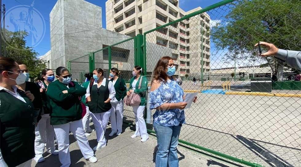 Se revelan enfermeras del IMSS 35 contra directivos
