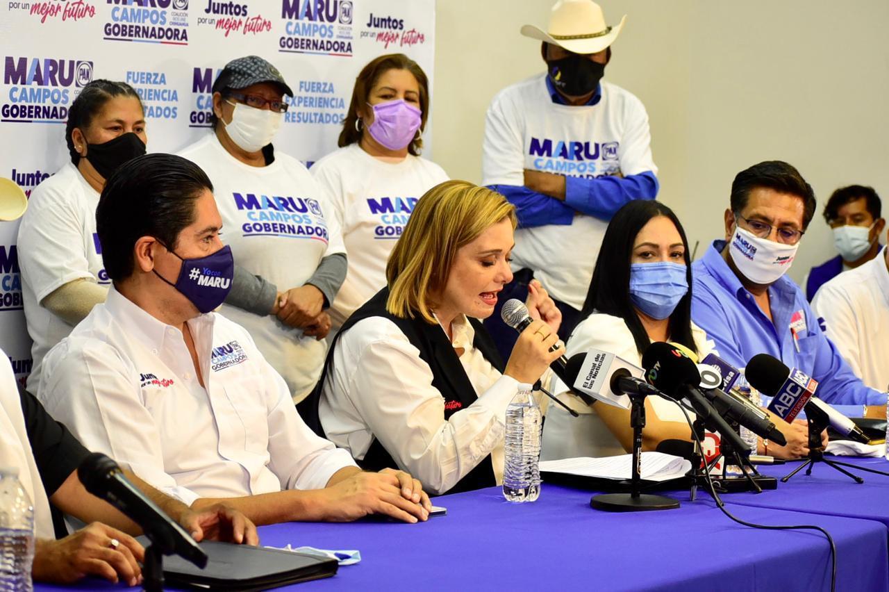 Puede contar con nosotros, hasta donde tope; se suman líderes morenistas a campaña de Maru