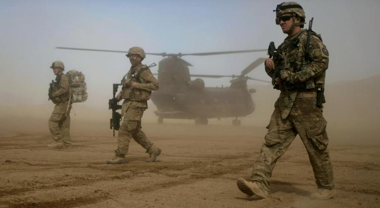 Saldrán aliados de la OTAN de Afganistán desde el 1 de mayo