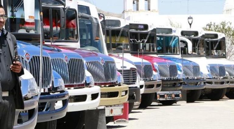 Supercierre: no cambian horarios de transporte en el estado