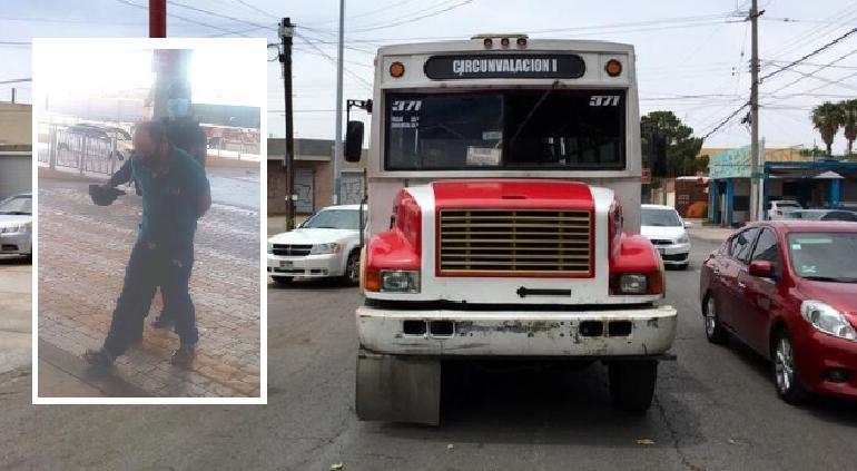 Someten pasajeros a acosador en camión; lo entregan a Policía
