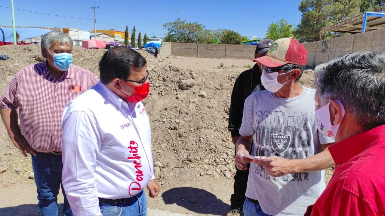 Cuauhtémoc > Panchito Sáenz compromete servicios de infraestructura y calidad en Rubio