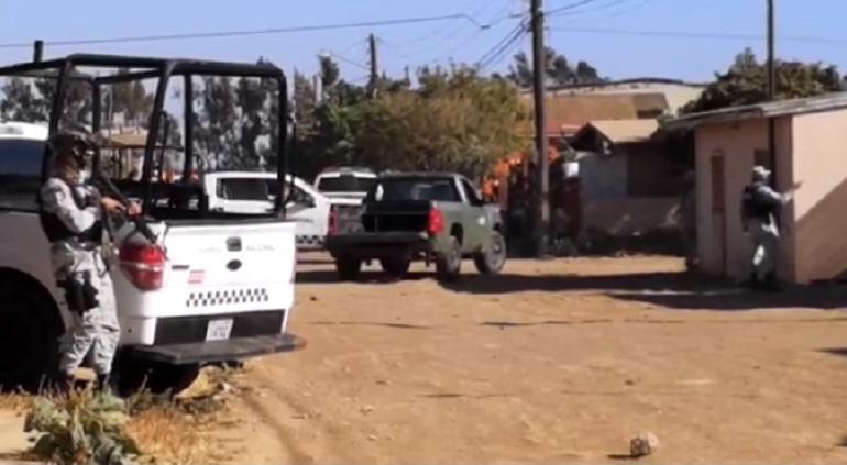 Emboscan a agentes y matan a estatal en Baja California