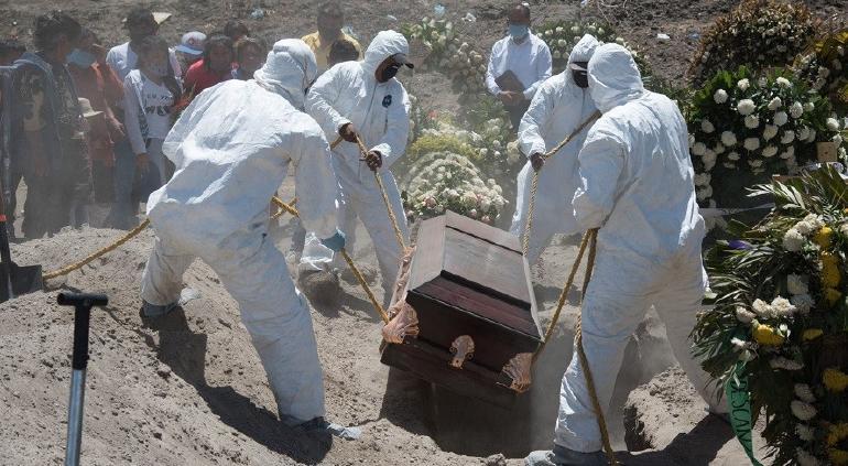 Confirmó México casi 200 muertes por COVID el último día