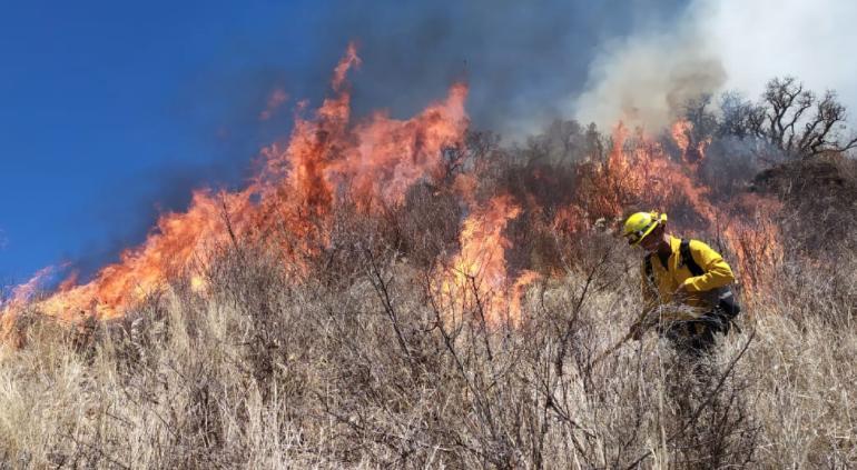 Lanzan colecta de artículos para brigadas en incendio de Casas Grandes