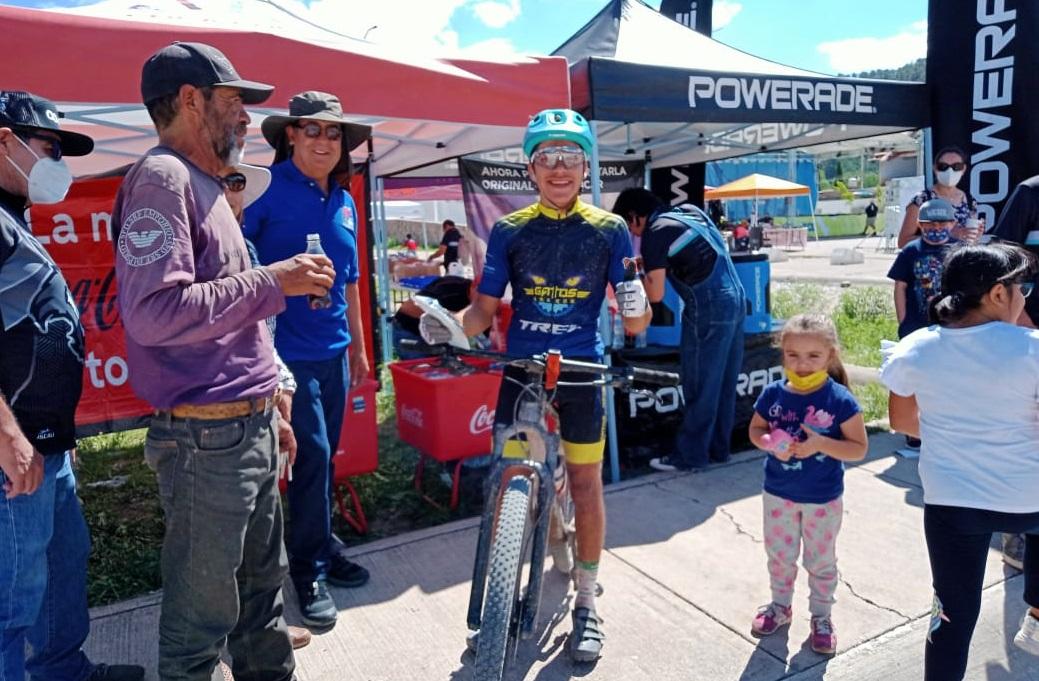"Finalizó en Creel la carrera ciclista ""High Sierra, La Onza"""