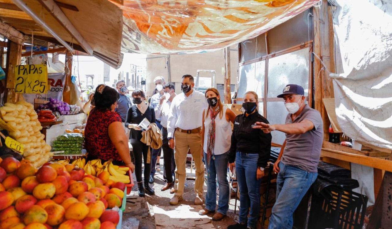 Realiza Alcaldesa recorrido en zonas afectadas por lluvias