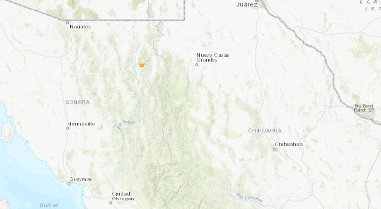 Tembló en Sonora, pudo percibirse Janos y Ascensión