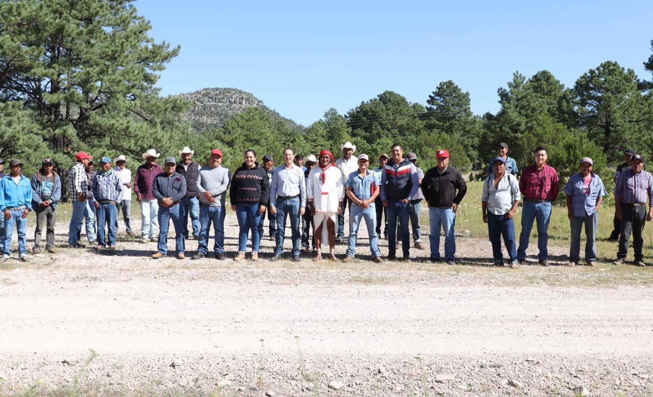 """Da """"Pepe"""" Yañez  arranque a obra que traerá empleo y gran desarrollo a comunidades alejadas"""