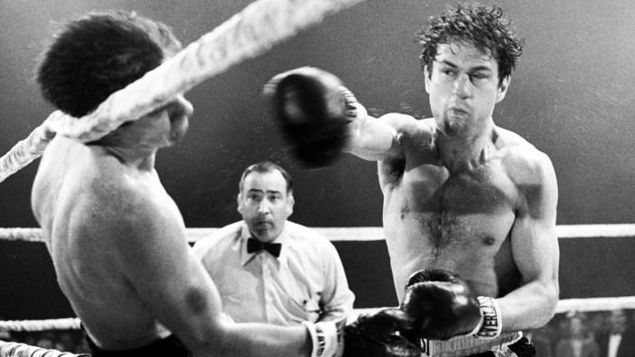Fotograma de la película 'Toro Salvaje' (1980).