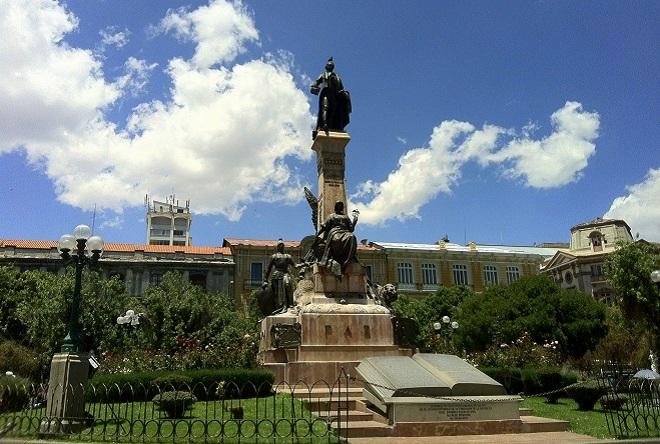 Plaza Murillo La Paz Bolivia 1