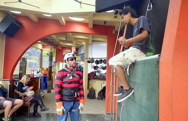 safety urban rush la paz bolivia