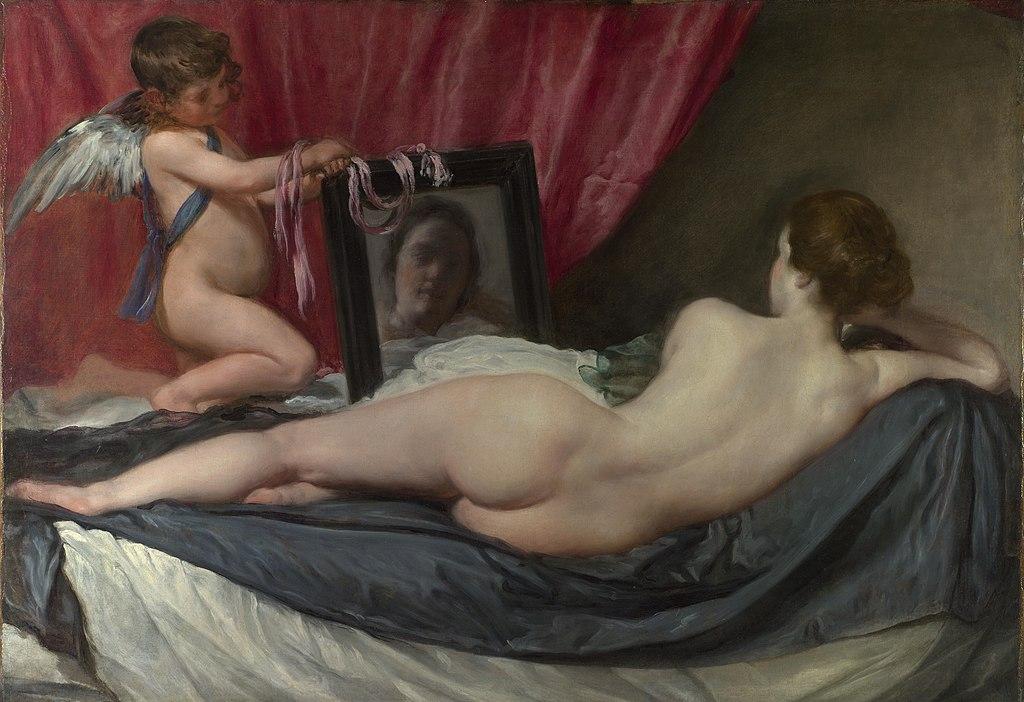 Diego Velázquez - Venus del espejo (1647-1651)