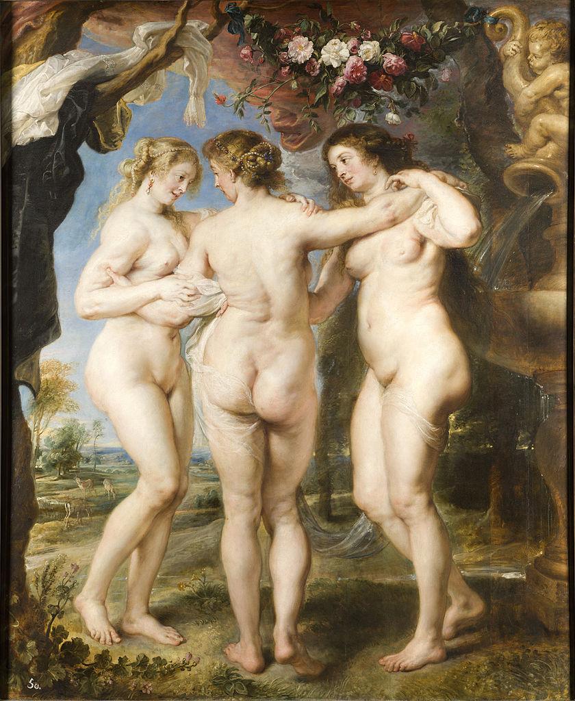 Peter Paul Rubens - La Tres Gracias (1635)