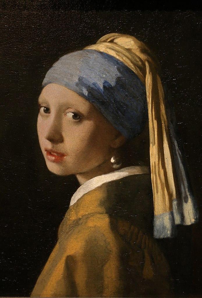 Johannes Vermeer - La joven de la perla (1665)
